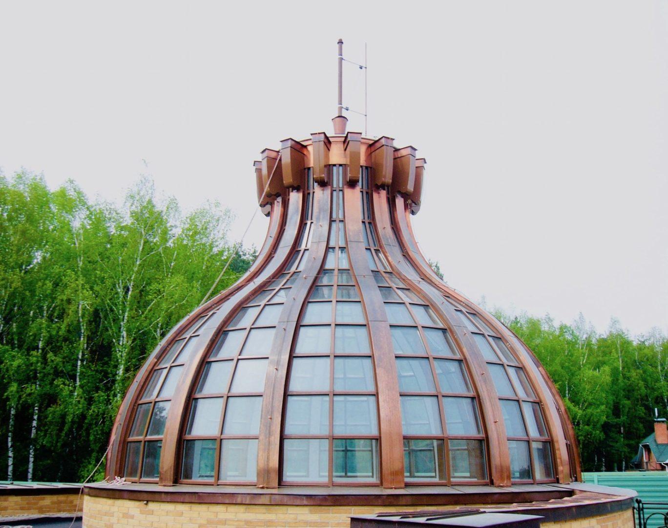 Необычный купол Концепция СПК Москва